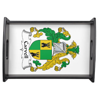 Carvell Family Crest Serving Tray
