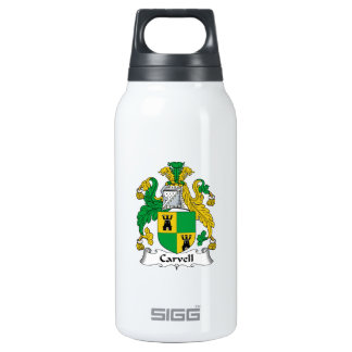 Carvell Family Crest SIGG Thermo 0.3L Insulated Bottle