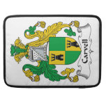 Carvell Family Crest Sleeves For MacBook Pro