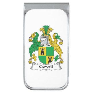 Carvell Family Crest Money Clip