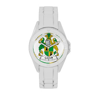 Carvell Family Crest Wrist Watches