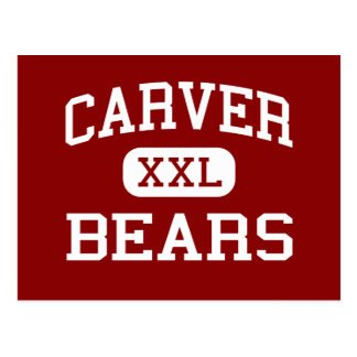 Carver - Bears - Middle School - Orlando Florida Postcard