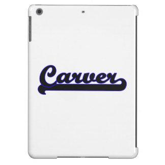 Carver Classic Job Design Case For iPad Air