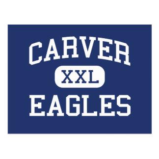 Carver Eagles Middle Delray Beach Florida Postcard