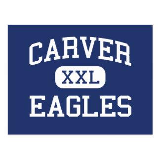 Carver Eagles Middle Laurel Hill Postcard
