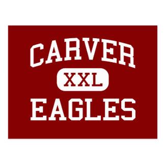 Carver - Eagles - Middle - Meridian Mississippi Postcard