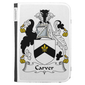 Carver Family Crest Kindle Covers