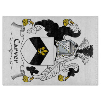 Carver Family Crest Cutting Board
