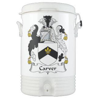 Carver Family Crest Igloo Beverage Dispenser