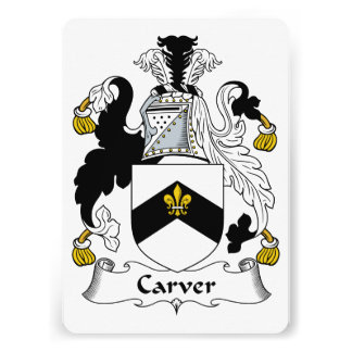 Carver Family Crest Announcement