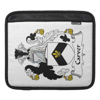 Carver Family Crest iPad Sleeves
