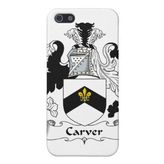 Carver Family Crest Cover For iPhone 5