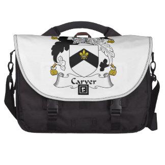 Carver Family Crest Bag For Laptop