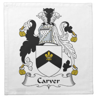 Carver Family Crest Napkins