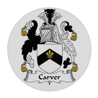 Carver Family Crest Poker Chip Set