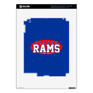 Carver High School; Rams Decals For iPad 3