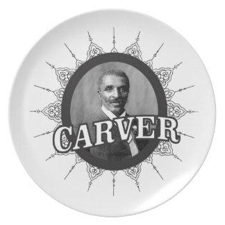 carver inventor smart melamine plate