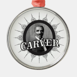 carver inventor smart metal ornament