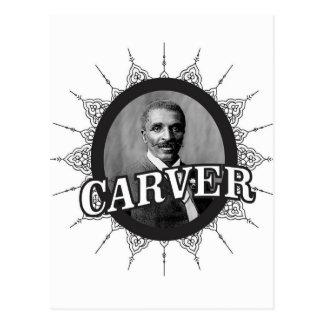 carver inventor smart postcard