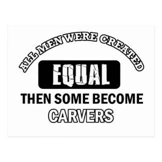 Carver Job designs Postcard