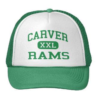 Carver - Rams - High - New Orleans Louisiana Trucker Hat