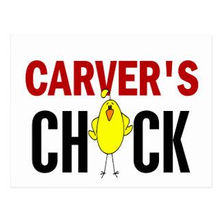 Carver's Chick Postcard