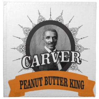 carver the pb king cloth napkin