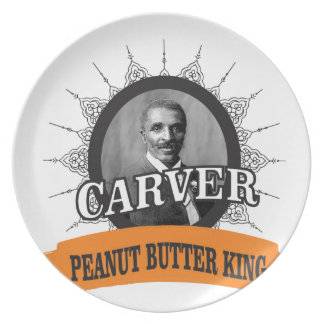 carver the pb king plate