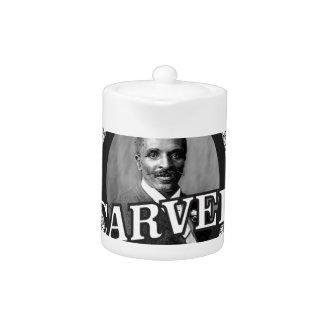 carver the pb king teapot