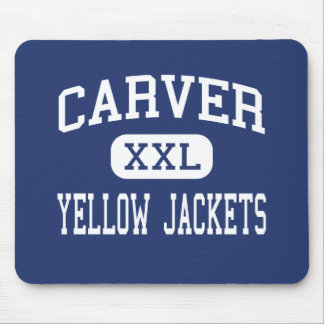Carver - Yellow Jackets - High - Winston Salem Mouse Pad