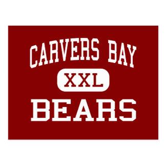 Carvers Bay - Bears - Middle - Hemingway Postcard