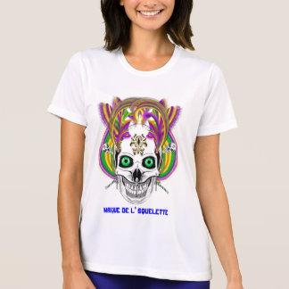 Carvinal Masque de l' Squelette Please View Note T-Shirt