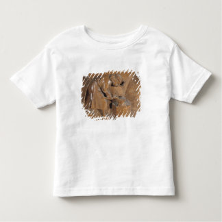 Carving depicting a coppersmith toddler t-shirt