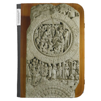 Carving depicting a story from the Jatakas, Amarav Kindle Folio Case