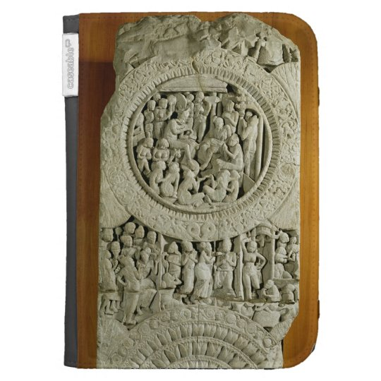 Carving depicting a story from the Jatakas, Amarav Kindle 3G Cover