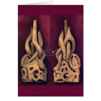 Carving in Wood Card
