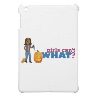 Carving Pumpkin Girl iPad Mini Covers