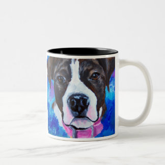Carvin's Daffy Two-Tone Coffee Mug