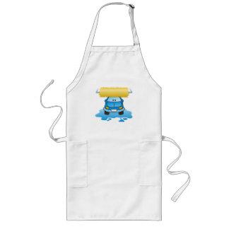Carwash cartoon long apron