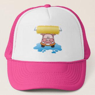 Carwash Pig Trucker Hat
