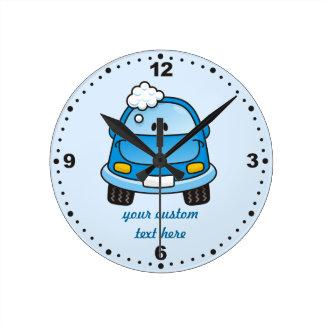 Carwash Reloj De Pared