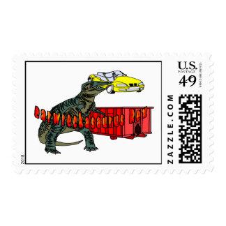 Carwreckasaurus Rex Sello