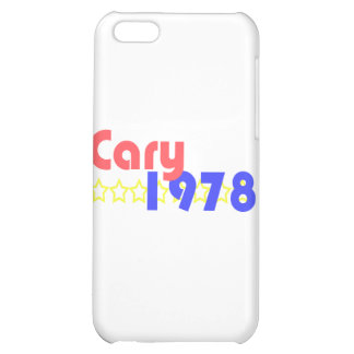 Cary 1978 iPhone 5C covers