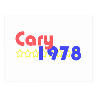 Cary 1978 postcard