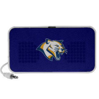 Cary Cougars Doodle Speakers