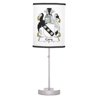 Cary Family Crest Table Lamp