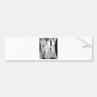 Caryatides abstracto (figuras humanas abstractas) pegatina para auto