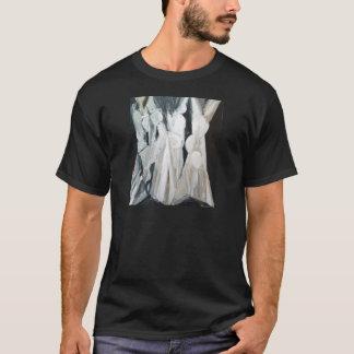 Caryatides abstracto (figuras humanas abstractas) playera