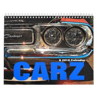 CARZ Cars Calendar
