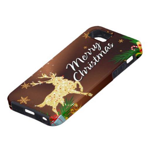 Cas de Coque-Compagnon du Joyeux Noël 15 iPhone 5 Case-Mate Carcasas
